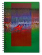 The Red Dragon Tatoo Spiral Notebook