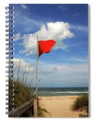 The Red Flag Spiral Notebook
