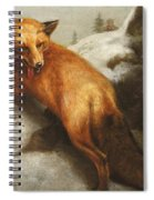 The Red Fox Spiral Notebook