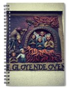 The Red Hot Oven Spiral Notebook