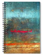 The Red Line Spiral Notebook