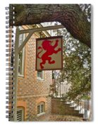 The Red Lion Spiral Notebook