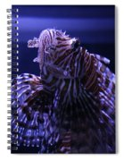 The Red Lionfish Spiral Notebook
