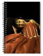 The Red Party Dress Spiral Notebook