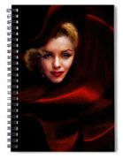 The Red Queen  Spiral Notebook