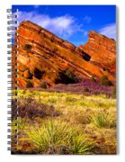 The Red Rock Park Vi Spiral Notebook