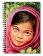 Brown Eyes Spiral Notebook