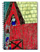 The Red Shed Club House That Dad Built Spiral Notebook
