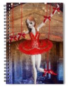 The Red Shoes Spiral Notebook