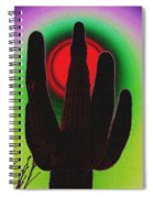 The Red Sun Spiral Notebook