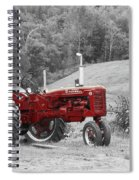 The Red Tractor Spiral Notebook