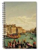 The Redentore Feast In Venice Spiral Notebook