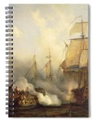 The Redoutable At Trafalgar Spiral Notebook