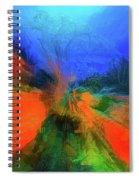 The Reef In Watercolor Abstract Spiral Notebook