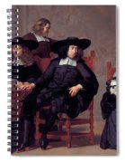 The Regents Of The Old Men And Women Hospital In Amsterdam Spiral Notebook
