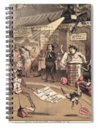 The Religious Vanity Fair Spiral Notebook