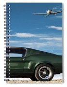 The Rendezvous - 1968 Mustang Fastback Spiral Notebook