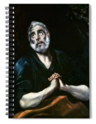 The Repentant Peter El Greco Spiral Notebook