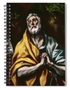 The Repentant Saint Peter Spiral Notebook