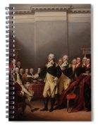The Resignation Of General George Washington Spiral Notebook