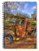 The Resting Place Boswell Farm 1947 Dodge Dump Truck Spiral Notebook