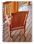 The Resting Place Spiral Notebook