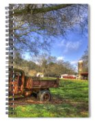 The Resting Place Shadows Spiral Notebook