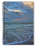 The Restless Sea Spiral Notebook