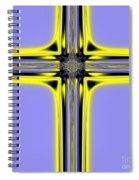 The Resurrection Cross Fractal 62 Spiral Notebook