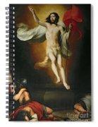The Resurrection Of Christ Spiral Notebook