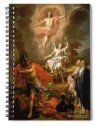 The Resurrection Of Christ Spiral Notebook