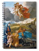 The Return Of The Holy Family From Egypt Spiral Notebook
