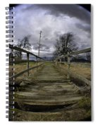The Rickity Bridge Spiral Notebook