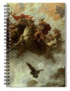 The Ride Of The Valkyries  Spiral Notebook