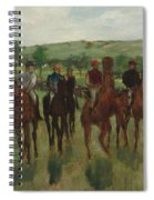 The Riders, 1885 Spiral Notebook