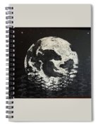 The Rise Of The Full Moon Spiral Notebook