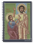 The Risen Lord Appears To St Thomas 257 Spiral Notebook