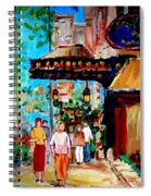 The Ritz Carlton In Spring Spiral Notebook