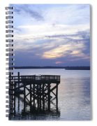 The River At Dusk Spiral Notebook