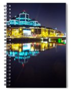 The River Liffey Night Romance 2 Spiral Notebook