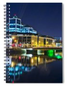 The River Liffey Reflections 4 Spiral Notebook