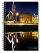The River Liffey Reflections Spiral Notebook