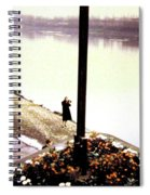 The River Seine 1955 Spiral Notebook