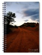 The Road Ahead Spiral Notebook