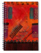The Road Between Us Spiral Notebook