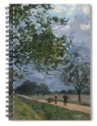 The Road From Versailles To Louveciennes Spiral Notebook