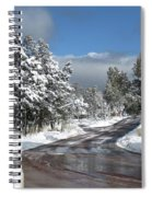 The Road Through Winter Spiral Notebook