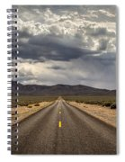 The Road To Death Valley Spiral Notebook