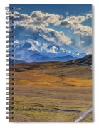 The Road To Denali Spiral Notebook