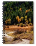 The Road To Fall Spiral Notebook